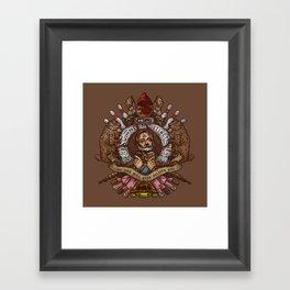Murray crest Framed Art Print
