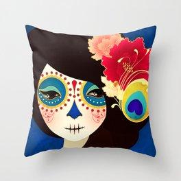 Muertita ~ Candy Throw Pillow