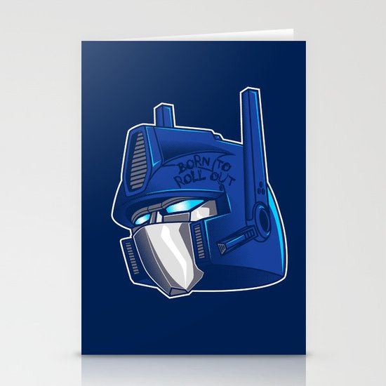 Full Metal Prime Stationery Cards