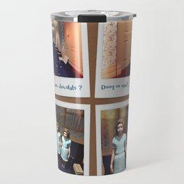 Jumelles et Chocolat Travel Mug