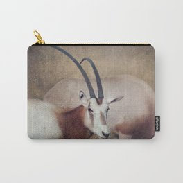 Scimitar oryx Carry-All Pouch