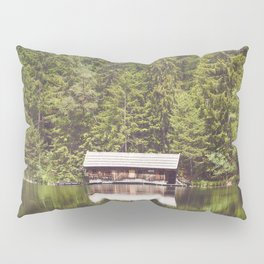Cottage in the Forest (Color) Pillow Sham