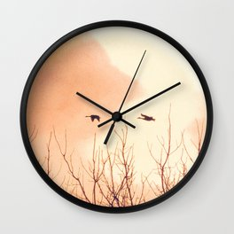 Flying Free Wall Clock