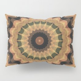 Ethnic ornament, kaleidoscope Pillow Sham