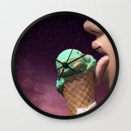 Ice Starcream Wall Clock