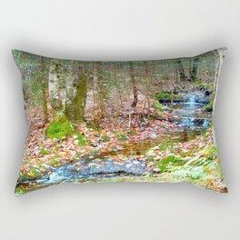 Nature's walk Rectangular Pillow