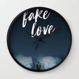 BTS - Fake love Wall Clock