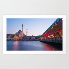 Istanbul Sunrise Art Print