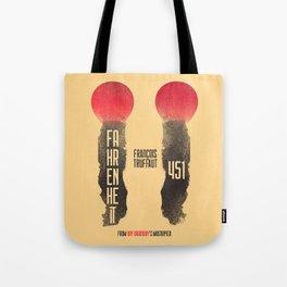 Fahrenheit 451, François Truffaut, french movie, british film, Ray Bradbury,  dystopian novel, book Tote Bag
