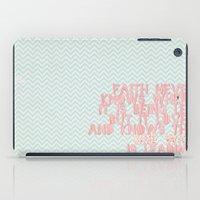 faith iPad Cases featuring Faith by The ArdentSparrow