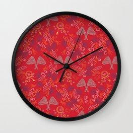 Bugs and Nature Wall Clock