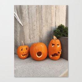 halloween friends Canvas Print
