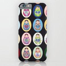 cute doll matryoshka iPhone 6 Slim Case