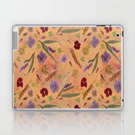 Coral Garden Meadow Laptop & iPad Skin