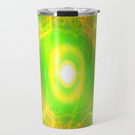 Green Pulsar Radiant Travel Mug