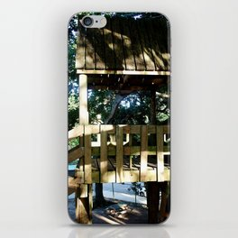 Tree house @ Aguadilla 3 iPhone Skin