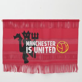 Manchester Is United Wall Hanging