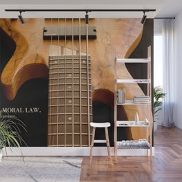 Music is a Moral Law Wall Mural