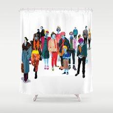Pandilla Shower Curtain