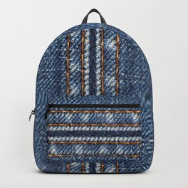 Jeans vertically Backpack