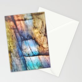Labradorite Macro Stationery Cards