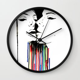 An Inkling Wall Clock