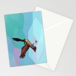 Owls are pretty much ninjas.   COLOR Stationery Cards