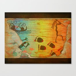 Cave Dwelling Native American Canvas Print