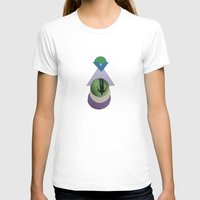 scuba T-shirts featuring Jillian Scuba Circles by SFrancis