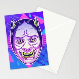 Neon Noh - Namanari Stationery Cards