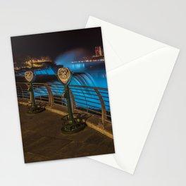 NIAGARA FALLS Idyllic Nightscape Stationery Cards