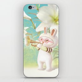Blooming Lily iPhone Skin