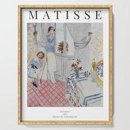 Henri Matisse - Boudoir - Exhibition Poster Serving Tray