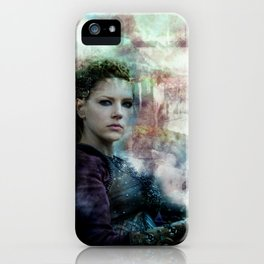 The Field Of Battle Is My Temple iPhone Case