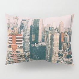 New York architecture 4 Pillow Sham