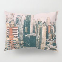 New York architecture 4 Pillow Sham