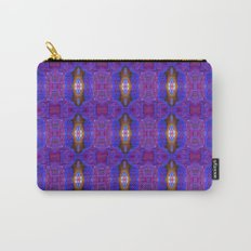 Fantasy fractal texture in crimson colors Carry-All Pouch