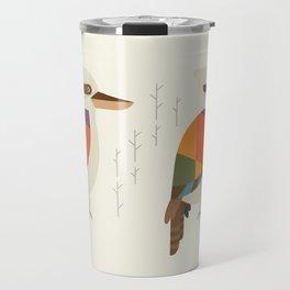 Laughing Kookaburra Travel Mug
