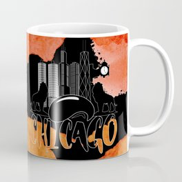 Chicago Iconic Landmarks Abstract Cityscape Coffee Mug