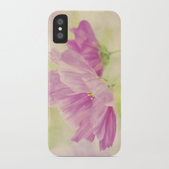 Cosmos in the Pink I iPhone Case