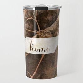 Tennessee is Home - Camo Travel Mug