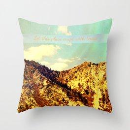 Summer Grace Throw Pillow