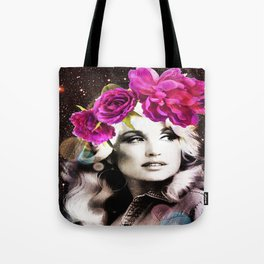 Holy Dolly (dolly parton) Tote Bag