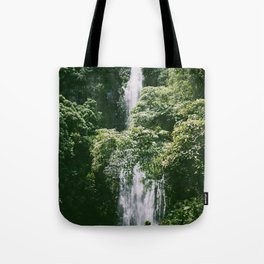 Waterfall in Hana Maui Tote Bag