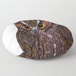 Great Horned Owl 2016 Floor Pillow
