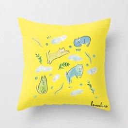 sunday mood Throw Pillow