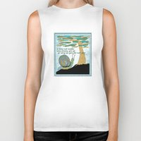 lee pace Biker Tanks featuring Set Your Pace by SueOdesigns
