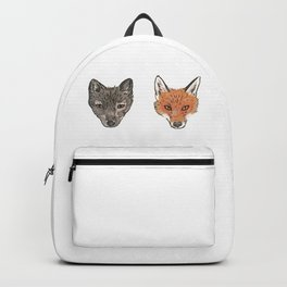 Arctic Fox Red Fox Backpack