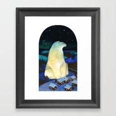 Winter King Framed Art Print