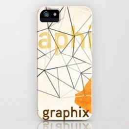 graphix head iPhone Case